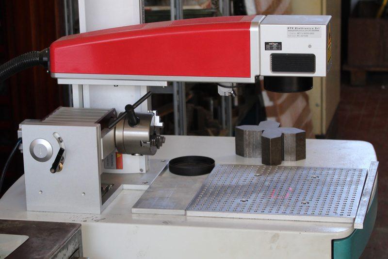 marcatura laser di precisione